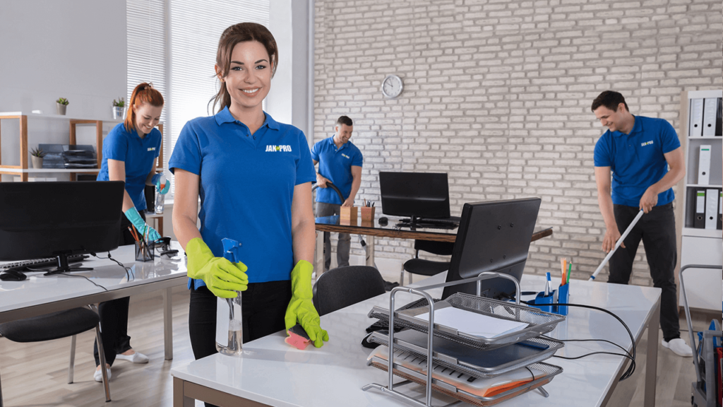 Improve your office cleaning with JAN-PRO of Tampa Bay